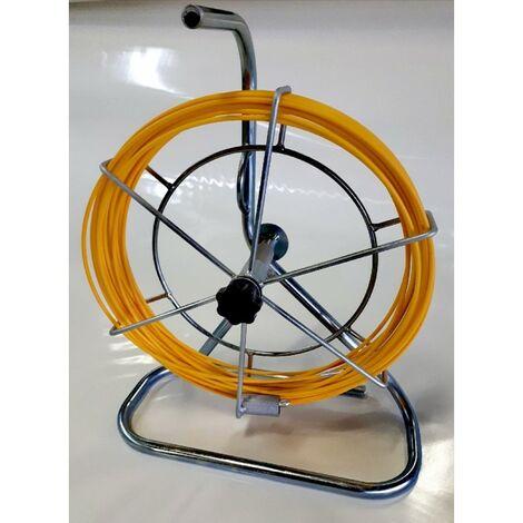 Aiguille fibre de verre - Ø6mm - 100m - Dévidoir sans roulettes
