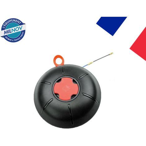 Aiguille tire fil 3 mm L 25 M sous carter + accessoires