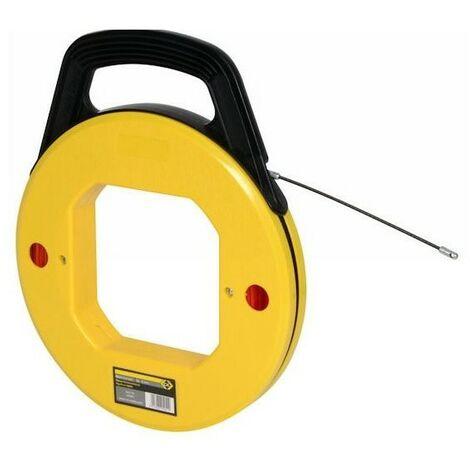 Aiguille tire-fils en nylon sous carter - 30 m - ø 4mm - rouge