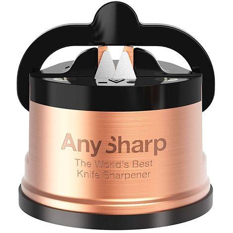 Aiguiseur professionnel AnySharp Pro Métal Chef (4 coloris au choix) - Cuivre