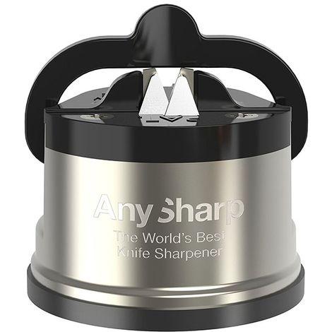 Aiguiseur professionnel AnySharp Pro Métal Chef (4 coloris au choix) - Inox