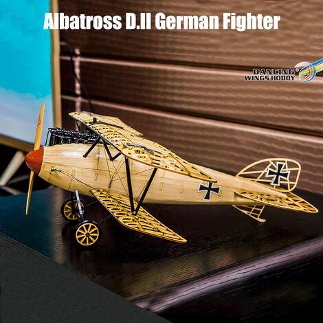 Ailes De Danse Hobby Vs02 1/15 En Bois Affichage Avion Modele Statique Replique 500Mm Albatross Kit Craft Bois Ameublement Cadeau Pour Enfants Et Adultes