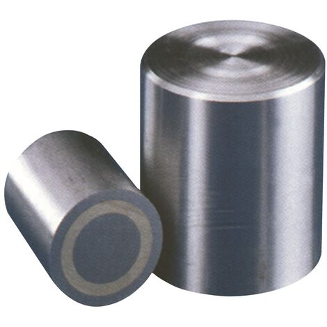 Aimant cylindrique D.13xH.18mm lisse adhérence 12N