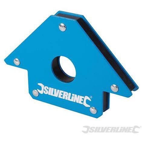 Aimant de soudeur 100 mm / 13 kg - Silverline - 868731