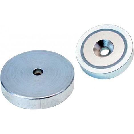 Aimant Néodyme avec trou 16 x 4,5mm Beloh (Par 10)