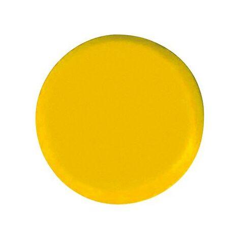 Aimant rond jaune 20mm Eclipse 1 PCS