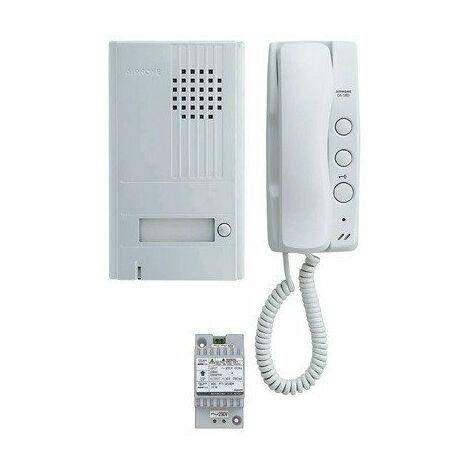 Aiphone - Kit portier audio 2 fils intégral - DA1AS