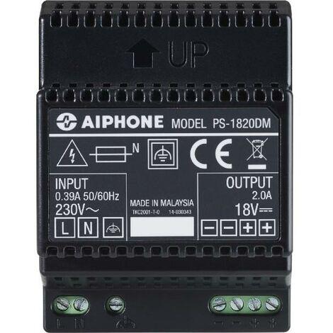 aiphone ps1820dm   aiphone ps1820dm - 110914 - alimentation 230 vac / 18 vcc - 2 a