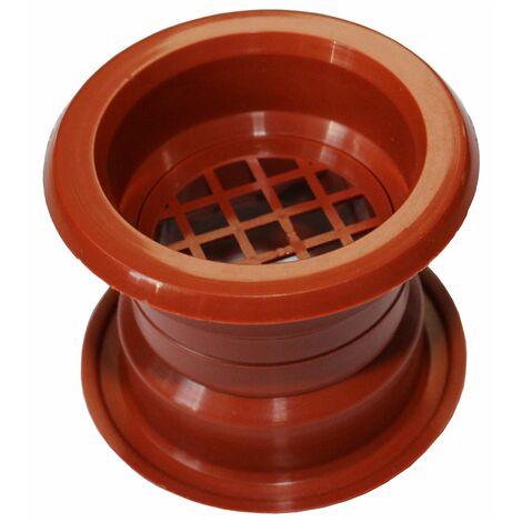 Air collier cercle Mini évent grille de ventilation de porte couvercle cerise 4pcs couleur