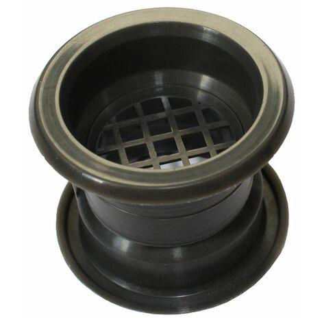 Air collier cercle Mini évent grille de ventilation de porte couvercle graphite 4pcs couleur