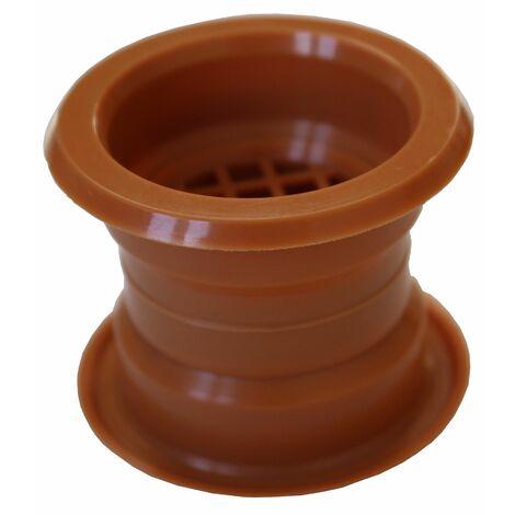 Air collier cercle Mini vent porte grille couverture de ventilation hêtre sombre 4pcs couleur