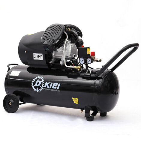 "main image of ""Air Compressor 100L Litre LTR 3.5HP 8 BAR 14.6CFM Direct Drive Electric Garage"""