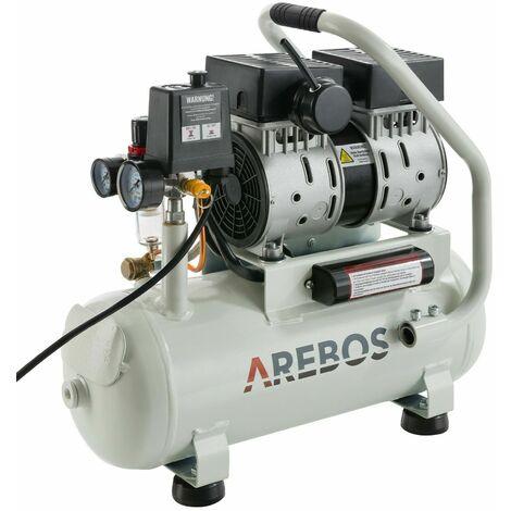 Air Compressor 500W 12L Pressure Vessel Oil-Free 54.5dB