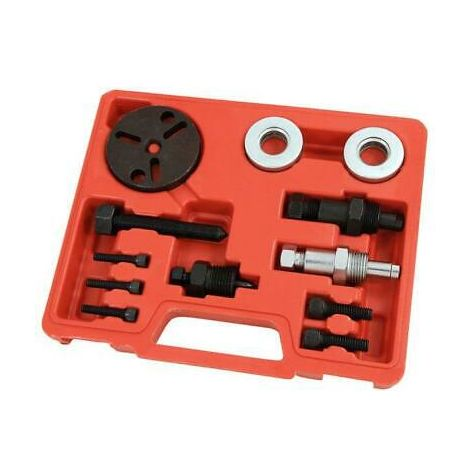 Air Conditioning Compressor Clutch Removal Tool Kit A/C Aircon