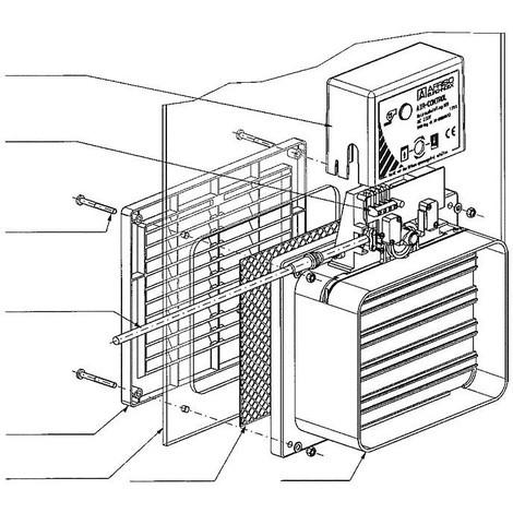 Air - Control disque en plexiglas