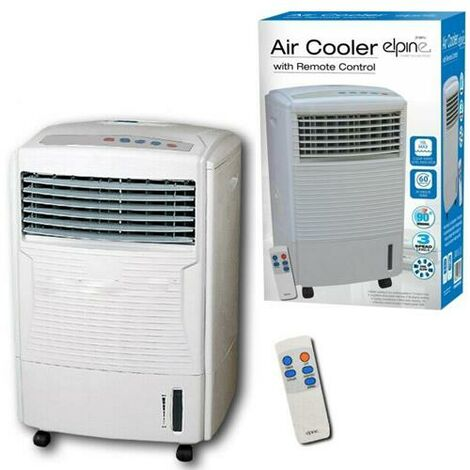 """main image of """"AIR COOLER WITH REMOTE CONTROL COLD HUMIDIFYING FAN TIMER EVAPORATOR WATER TANK"""""""