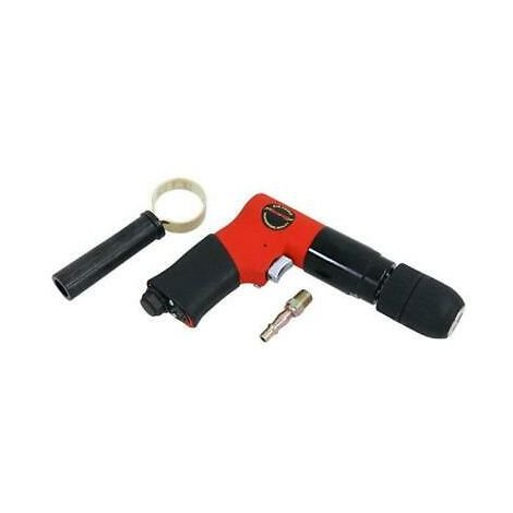 "Air Drill 1/2"" Keyless Chuck Reversible Side Handle"