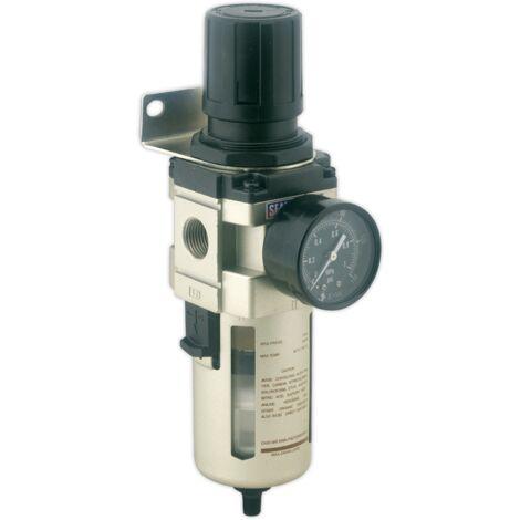 Air Filter/Regulator Auto Drain Max Airflow 140cfm