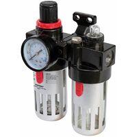 Air Filter Regulator & Lubricator - 150ml