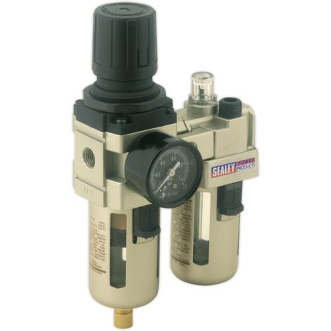 Air Filter/Regulator/Lubricator Max Airflow 60cfm