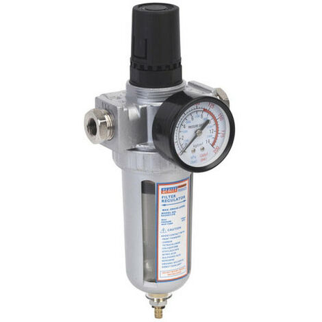 Air Filter/Regulator with Gauge