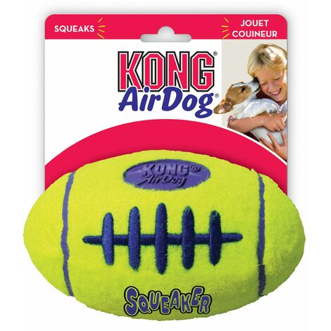 Jouet KONG® AirDog Squeaker Rugby Taille : M