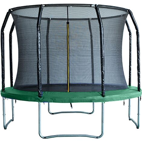 Air League 10ft Trampoline & Enclosure Green