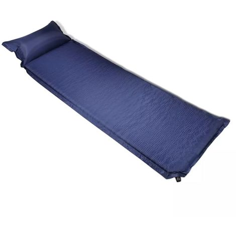 Air Mattress 6 x 66 x 200 CM Blue Pillow Inflatable VD32012