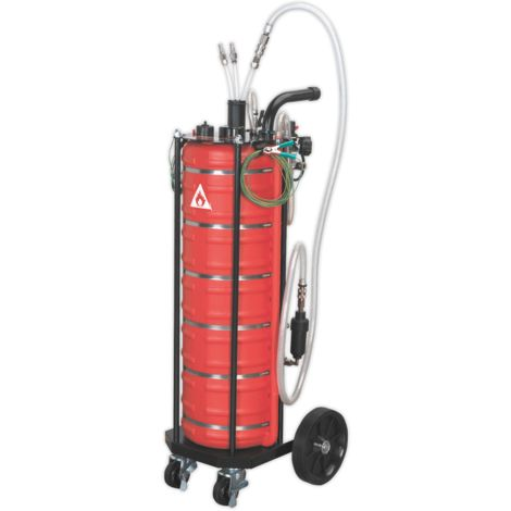 Air Operated Fuel Drainer 40ltr