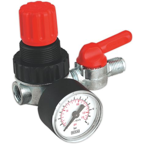 "Air Regulator 1/4""BSP Female - 1/4""BSP Male"