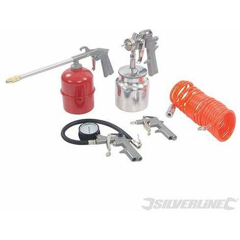 Air Tools & Compressor Accessories Kit 5pce -