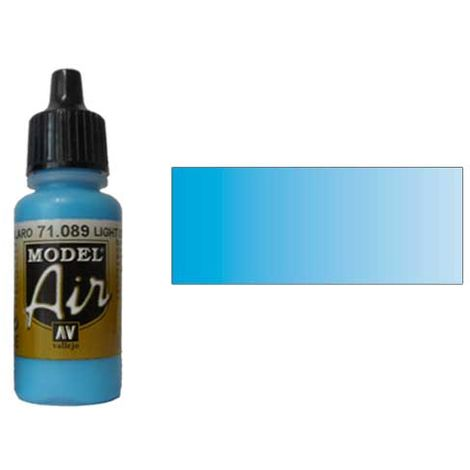 "main image of ""Airbrush Farbe Model Air Vallejo 71.089 Azul Mar Claro Light Sea Blue"""