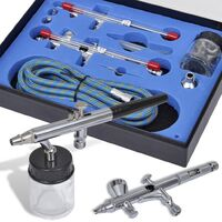 Airbrush Set with 2 Spray Guns