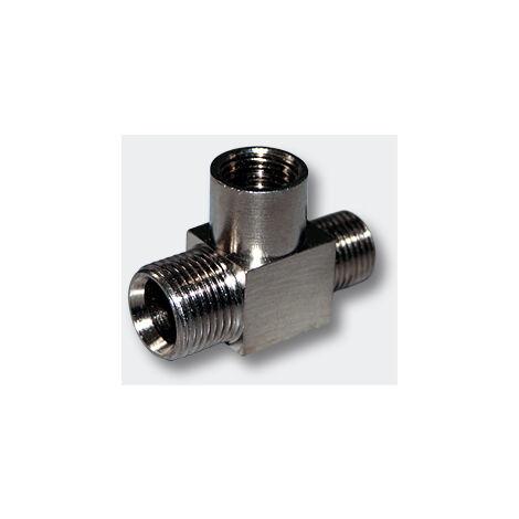 Airbrush T-Pièce connecteur de compresseur AS19 AS196 AS196A