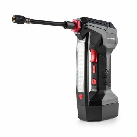 """main image of """"AirBuddy Akku-Luftpumpe 120 W LED-Licht 1500 mAh Akku schwarz / rot"""""""