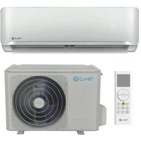 Aire acondicionado Clivet Essential 2 inverter 3000 frigorias 3.5 kw R32