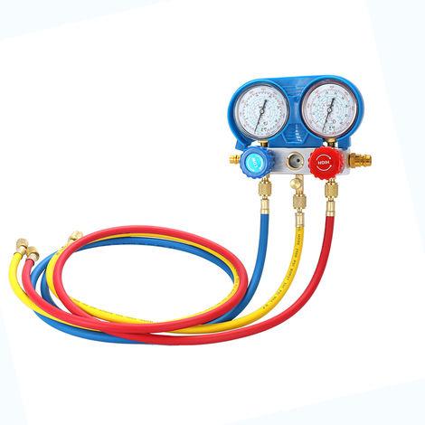 Aire Acondicionado Coche Refrigerante Freon , Herramienta de diagnostico del manometro