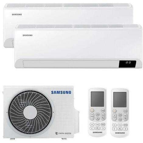 Aire Acondicionado Doble Split Samsung CEBU 2200+3000Frigorias WIFI Inverter R32 A++
