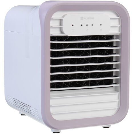 Aire acondicionado evaporativo Mini ventilador enfriador LED Rosa