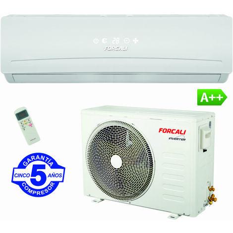 Aire Acondicionado FORCALI Frio/Calor Inverter Serie TITANIUM