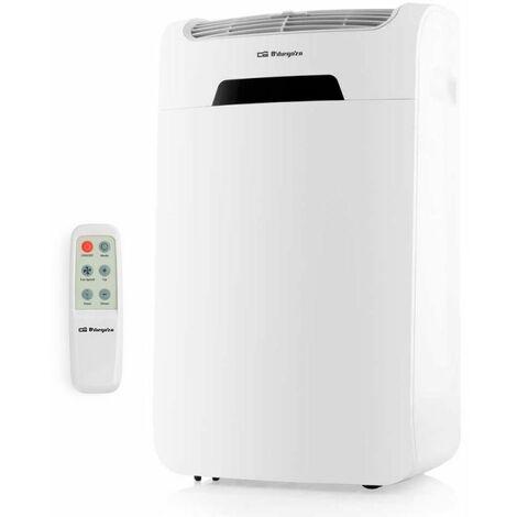 Aire acondicionado portátil orbegozo adr 121 - 1300w - 3000 kilofrigorias/hora - temporizador - función deshumidificador / ventilador