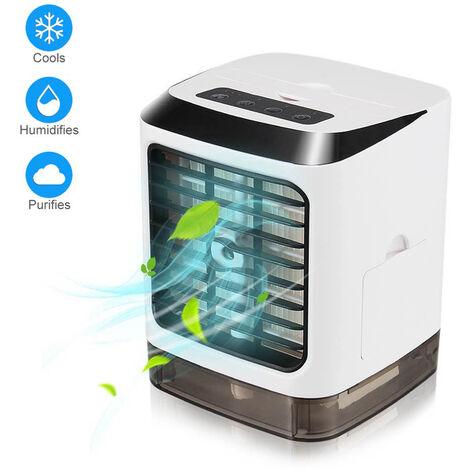 Aire acondicionado Refrigerador de aire Humidificador Mini ventilador USB