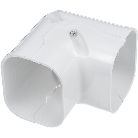 Aire acondicionado Tubo Conector Manguera Ranura Accesorios Piezas Reemplazo Decoración F