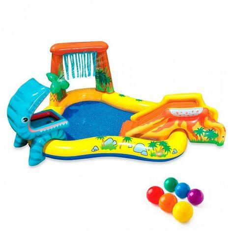 Aire de jeu gonflable dinosaures - Intex - Piscine pour enfants - Livraison gratuite