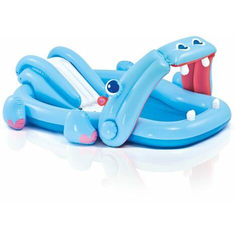 Aire de jeu gonflable Hippo Intex