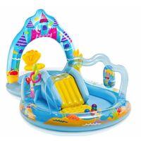 Aire de jeu gonflable - Royaume des sirènes - Piscine pour enfants - Livraison gratuite