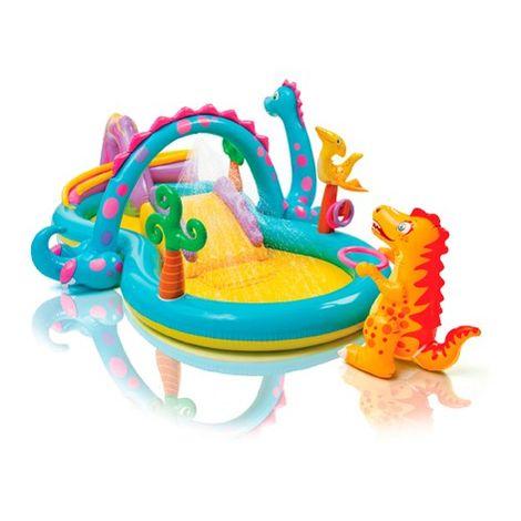 Aire de jeux aquatique avec toboggan Dinoland