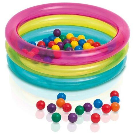Aire De Jeux Gonflable Avec Balles Intex