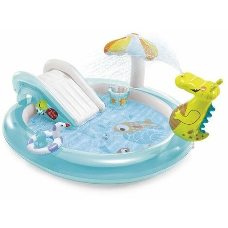 Aire de jeux gonflable Intex Alligator