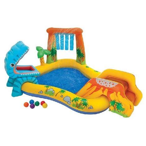 Aire de jeux gonflable Jurassic de Intex - Jeux piscine
